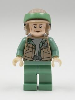 Gold Leader from Set 9495 Star Wars NEW sw369 Lego Dutch Vander Minifigure