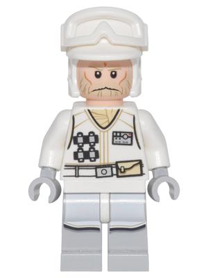 x1 NEW Lego Minifig Headgear Helmet STAR WARS Hoth Rebel Trooper TAN