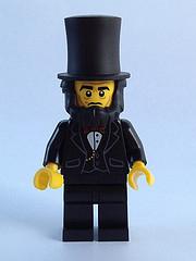Bricker Lego Minifigure Tlm005 Abraham Lincoln
