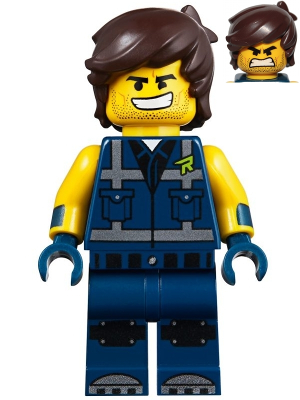 New Lego Emmet Minifigure LEGO Movie 2 from 70826 Minifig