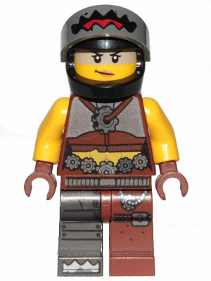 Helmet FROM SET 70829 THE LEGO MOVIE 2 tlm176 NEW LEGO Sharkira