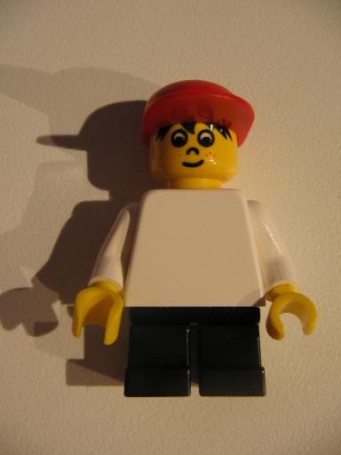 Bricker Lego Minifigure Wc027 Timmy Black Short Legs