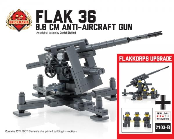 Bricker - Construction Toy by Brickmania 2103BKM2103-B Flak