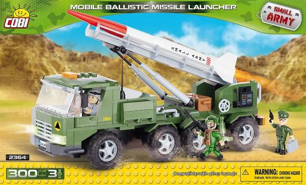 """COBI 2364 /""""Mobile Ballistic Missile Launcher/"""" Building Set"""