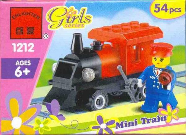 Enlightone: Construction Toy By ENLIGHTEN (Brick) 1212 Mini