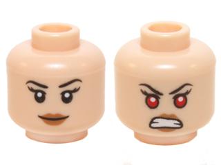 Bricklink Flesh Head Glasses