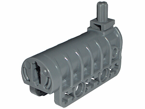 Bricker - Part LEGO - 57029c01 Technic Competition Cannon, Flat Bottom