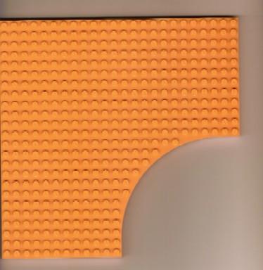 1 x LEGO ® 6161 plaque 24x24 rien avec incision Couleur Bleu D/'occasion comme photo.