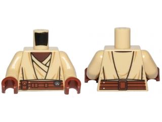 Lego Minifig Red Brown Heads x 10 Agen Kolar SW Heads