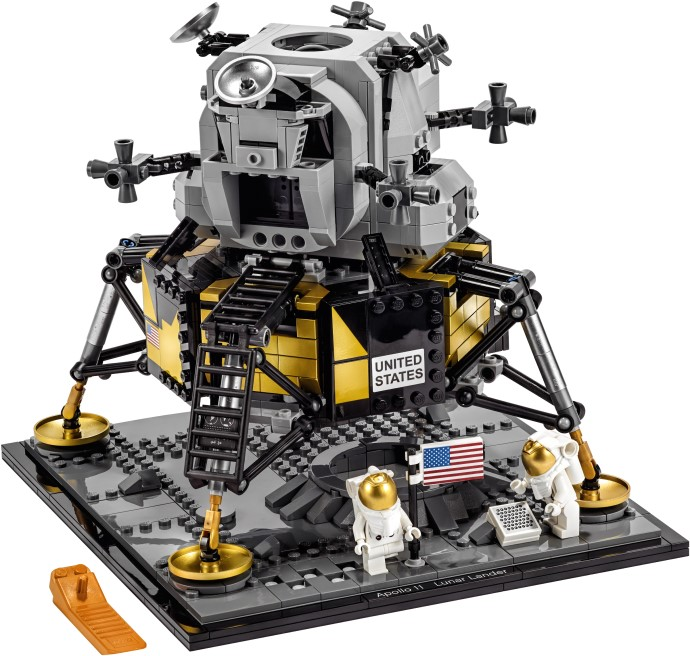 Bricker - Construction Toy by LEGO 10266 NASA Apollo 11 Lunar Lander