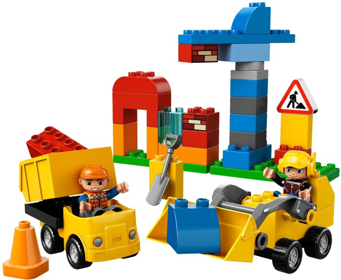 Bricker Construction Toy By Lego 10518 My First Construction Site