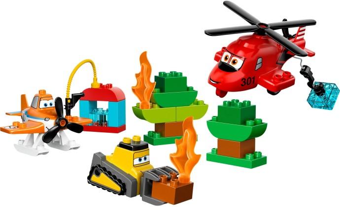 Bricker Part Lego 13534c01pb01 Duplo Airplane Landing Gear With