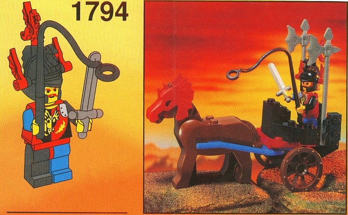 Lego 2 Red Horse Battle Helmet 6125
