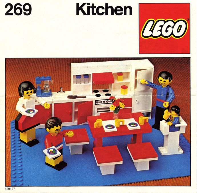 Best Lego Kitchen 269 1978 Souvenirs Vintage Pinterest 640 x 480