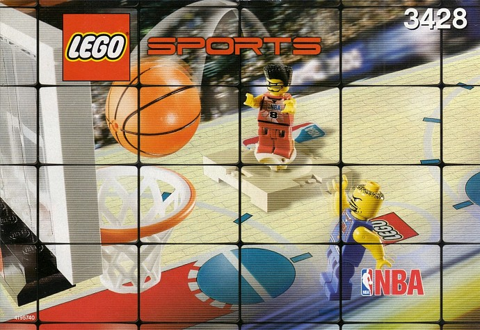 how to build lego basketball court