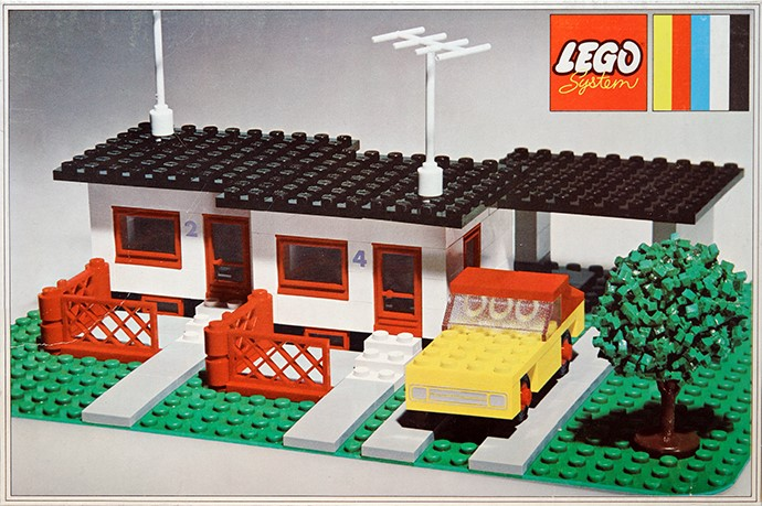 Bricker part lego 3187 fence gate 1 x 4 x 2 base for Lego house original