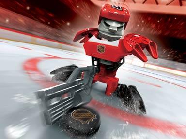 LEGO® 1Stk Sports Hockey Helm orange 44790 beklebt