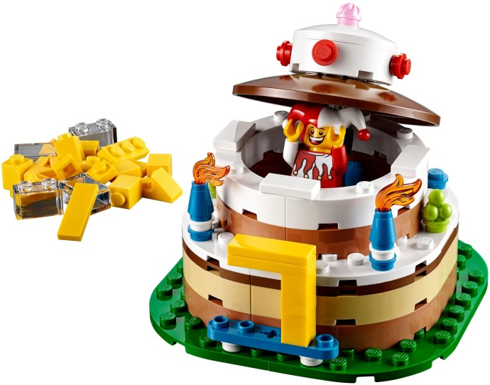 Bricker Construction Toy By Lego 40153 Birthday Cake