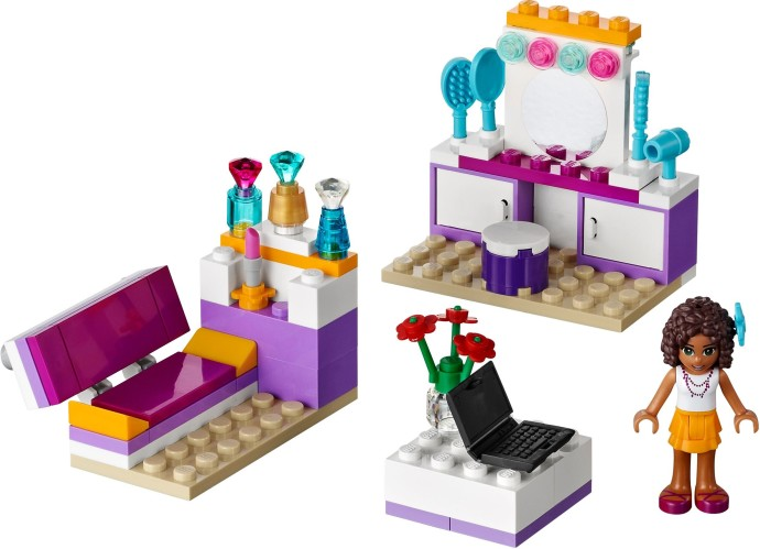 Bricker Construction Toy By Lego 41009 Andreas Bedroom