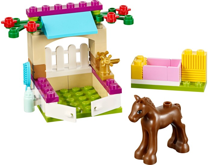 Bricker Construction Toy By Lego 41089 Foal Care Stable