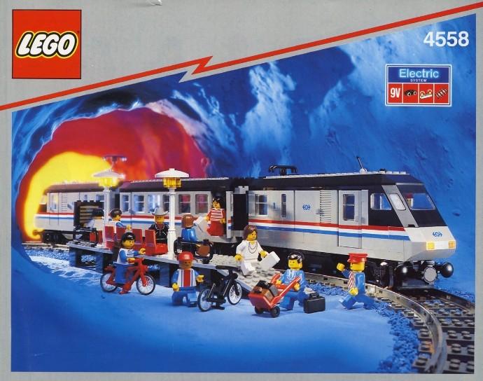 Track 9V Curve @@ 4511 4512 4558 4559 4560 4563 4564 4565 LEGO 2867 @@ Train