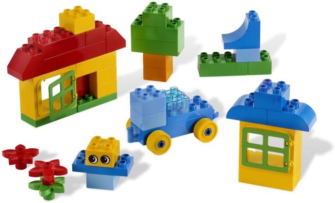 Bricker Construction Toy By Lego 5538 Duplo Creative Bucket