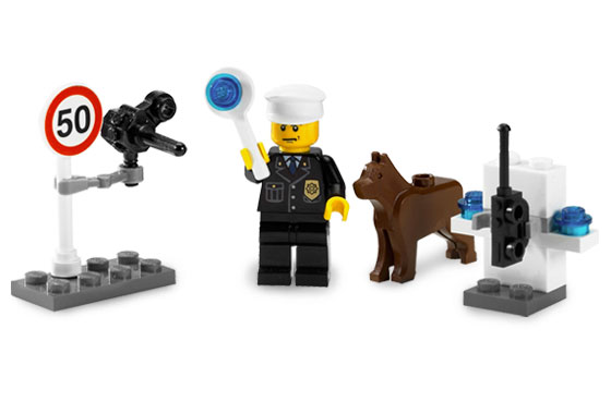 NEW Lego Animal Minifig REDDISH BROWN DOG// WOLF The Grim 10197 7744 10176 Pet