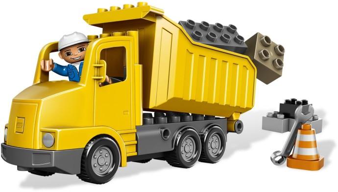 Bricker Construction Toy By Lego 5651 Dump Truck
