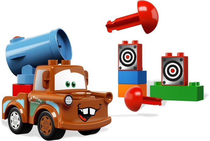 Bricker Construction Toy By Lego 5817 Agent Mater