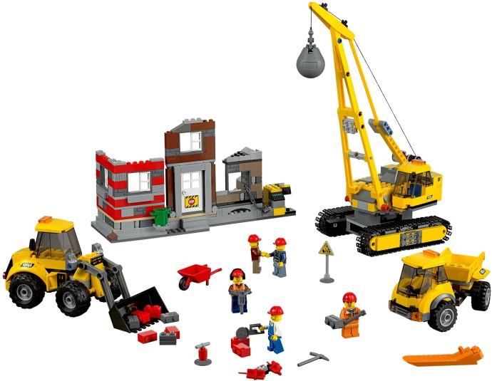 Lego 10 New Dark Tan Crane Harbor Derrick 16 with Double Attachment Boat Pieces