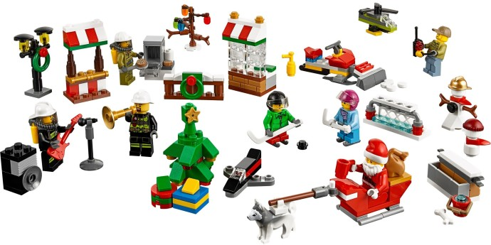 Bricker - Construction Toy by LEGO 60133 City Advent Calendar