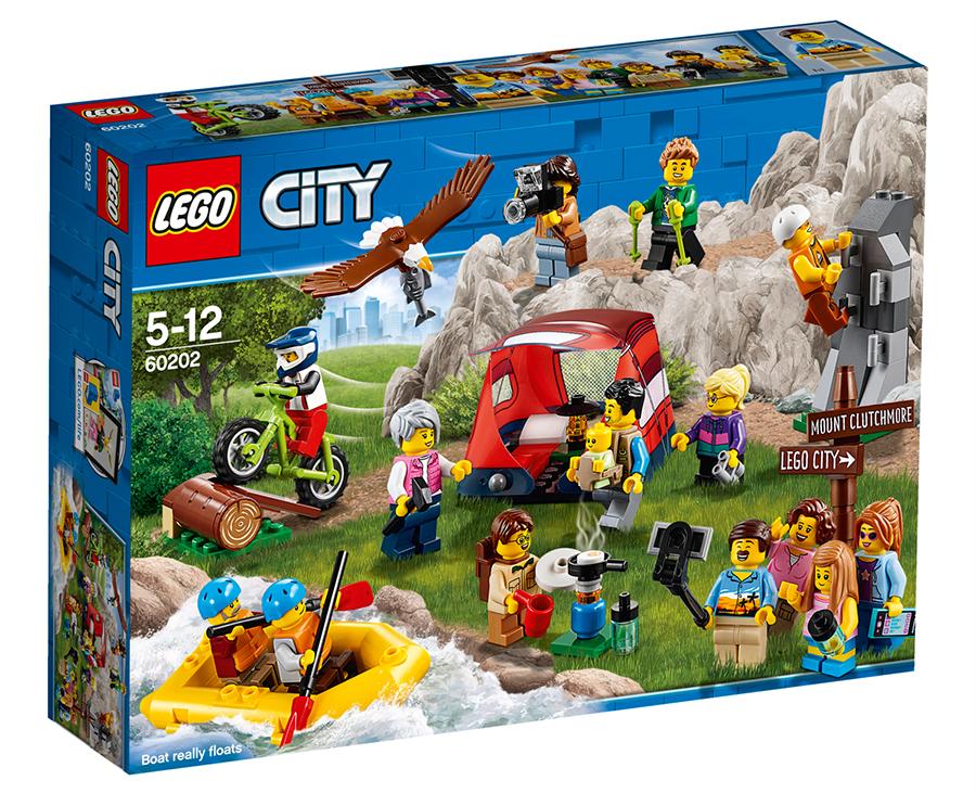 30086 Lego 2 x Yellow Raft Small