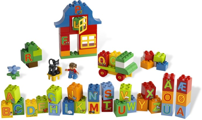 Bricker - Construction Toy by LEGO 6051 Play with Letters Set