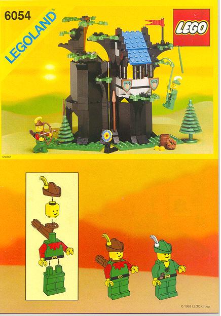 Bricker Part Lego 973p46c01 Torso Castle Forestman Tie Shirt And