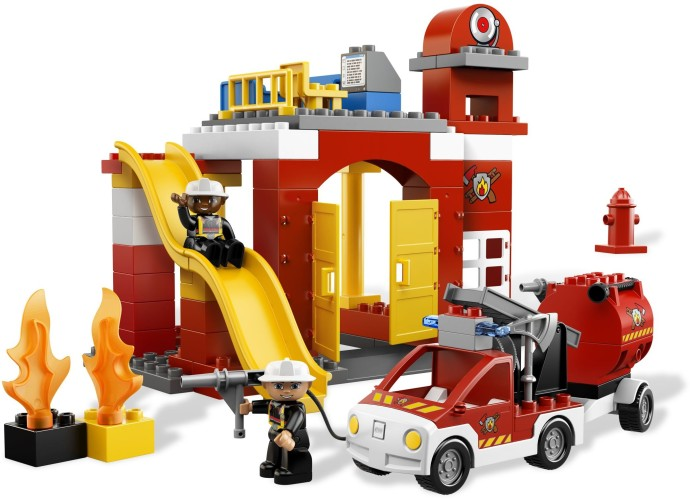 Bricker - Construction Toy by LEGO 6168 Fire Station