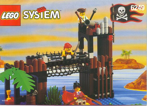 6249 LEGO Lot of 8 Brown Panel 2 x 6 x 6 Log Wall Palisade 6762 6769 6088
