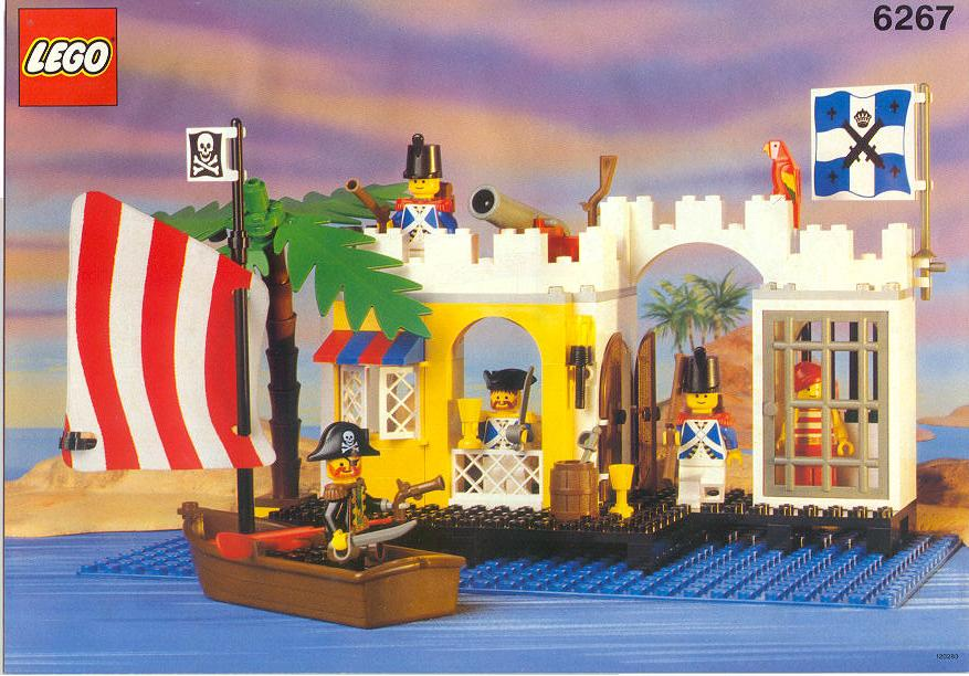 Lego Pirate Ship Instructions 6243