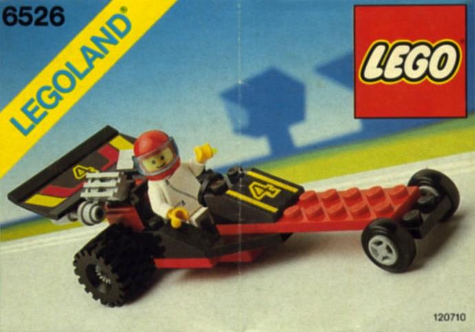 LEGO Ville Turbo Racer 6502 vintage