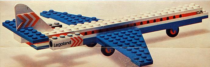 Lego 1x Brick Brique 2x4 Plane Windows 4 Thin Red Pattern 3001oldpb01 White