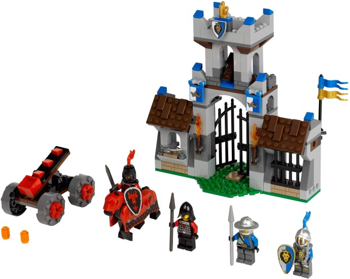 1 x LEGO 42448 Porte Door 1x4x9 Arched Gate NEUF NEW noir Grille Portail