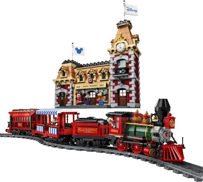 Bricker - Construction Toy by LEGO 71044 Disney Train and