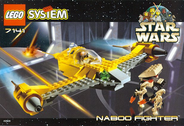 Bricker - Construction Toy by LEGO 7141 Naboo Fighter