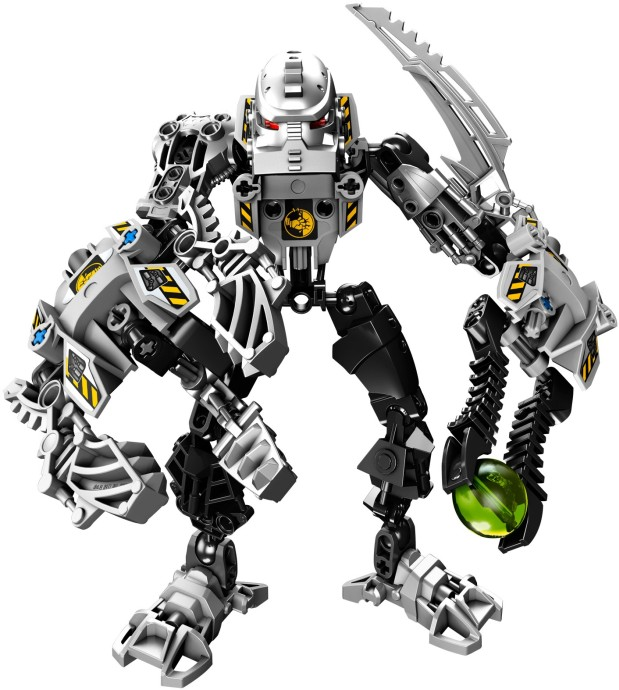 LEGO PART 87794 BLACK HERO FACTORY TORSO SKELETAL WITH BALL JOINTS