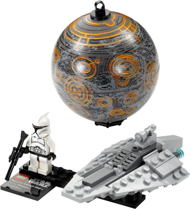 Bricker Construction Toy By Lego 75007 Republic Assault Ship