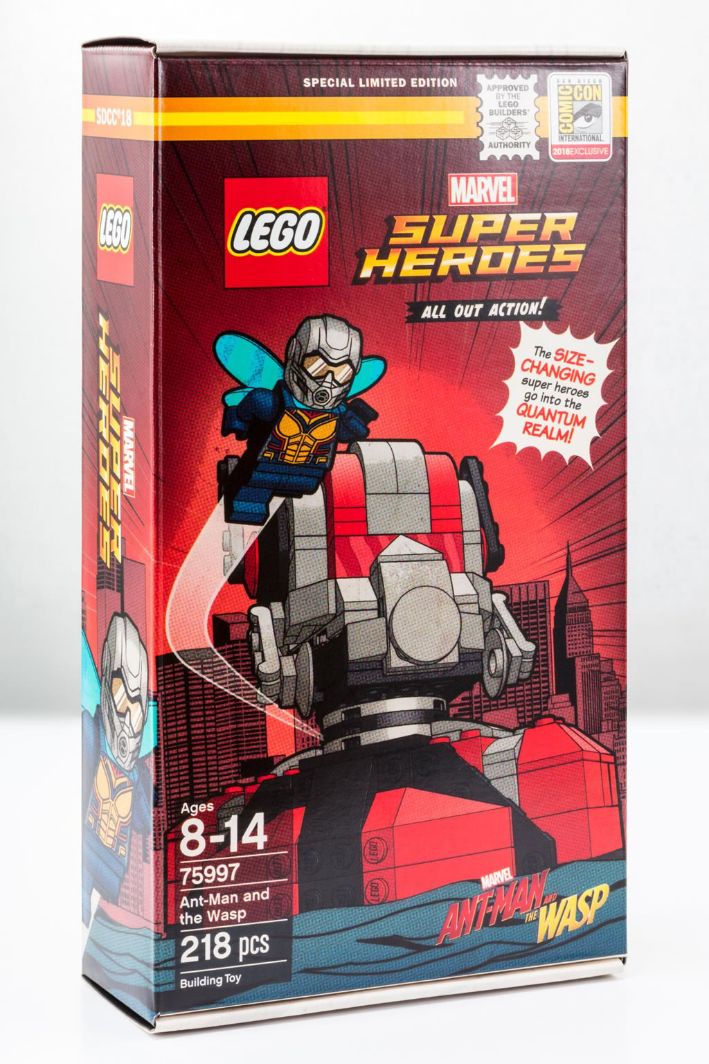 Bricker - Construction Toy by LEGO 75997 Ant-Man and the Wasp