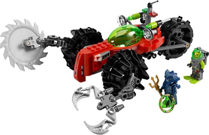 LEGO ATLANTIS TREASURE KEY W// CENTRE TRIANGLE MANTA RAY PATTERN SELECT QTY NEW