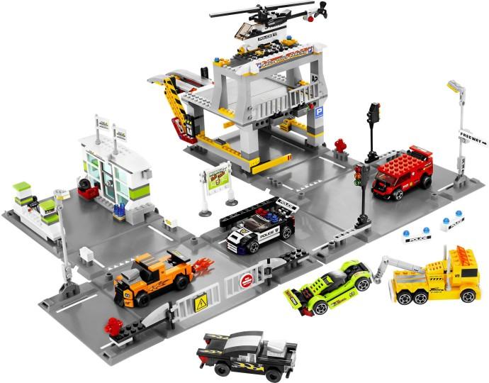 VB8 LEGO DARK BLUISH GREY x 4 Mudguard 1 x 4 1//2 VEHICLE 50947
