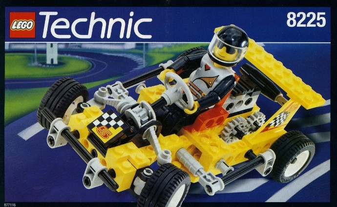 Bricker Construction Toy By Lego 8225 Road Rally V Super Kart