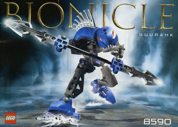 Lego Bionicle Weapon Rahkshi Staff of Disintegration Guurahk 44817