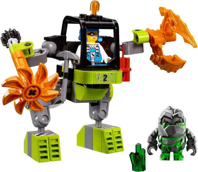 Baukästen & Konstruktion LEGO® Minifigure Headgear Hemlet With Breathing Apparatus and Headlights 30325